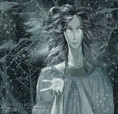 Melian. Into Tol-Galen winter by RiaRi08 on DeviantArt
