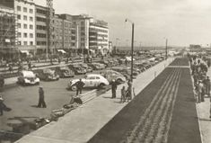 """Congress Plakietowy"" owners of automobiles in the Kosciuszko Square in Gdynia 1937"