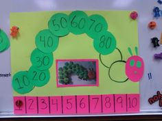 """""""Very Hungry Caterpillar"""" chart for classroom management"""
