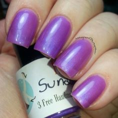 Sundown by IndiePolish (sw, large bottle) 2$ - note this is a very sheer polish best for layering