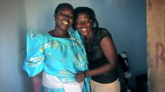 Angwech Collines (pictured on the right) is one of our heroes. Learn about Collines and her important work with sick children Uganda.