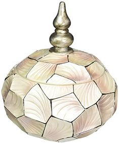 OK Lighting Conch Shell Round Box >>> Check out this great product. (Note:Amazon affiliate link)