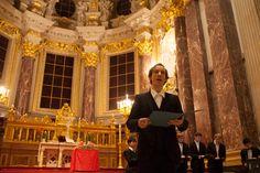 photo: Johannes Püschel | concert @berlinerdom 16.12.2012 | singing an improvisational piece