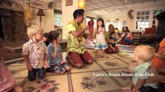 Aunty's Beach House at Aulani, a Disney Resort & Spa in Hawai'i is a complimentary kids club where younger Guests can play and enjoy imaginative amenities, while parents reconnect or enjoy uplifting downtime – and rest assured knowing their kids are supervised by childcare professionals.