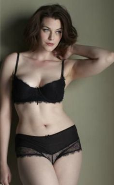 Laura Catterall 34E bust, 29 inch waist, 41 inch hips for Simply Yours UK