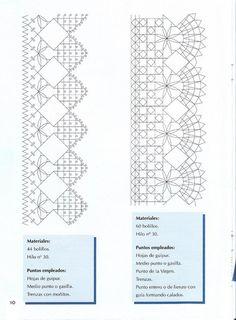 Labores de Bolillos 01 Doily Art, Bobbin Lacemaking, Bobbin Lace Patterns, Needle Lace, Lace Making, Yarn Crafts, Tatting, Clip Art, Album
