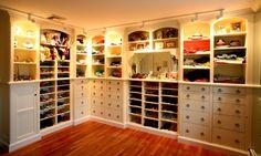 idée de décoration grand dressing