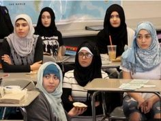 Chicago High School: Dress Up as a Muslima Event Sponsored by Terror-Tied Muslim Group MSA