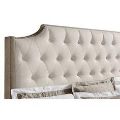 Ophelia & Co. Walburn Upholstered Standard Bed | Birch Lane King Beds, Queen Beds, Cal King Bedding, Tufted Bed, Upholstered Beds, Stanley Furniture, Coastal Bedding, Bedroom Bed, Master Bedrooms