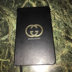 Gucci Guilty Black Notebook Good quality notebook with plain paper & elastic string Gucci Guilty Accessories