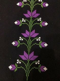 1 million+ Stunning Free Images to Use Anywhere Embroidery Leaf, Hand Work Embroidery, Flower Embroidery Designs, Cross Stitch Embroidery, Cross Stitch Borders, Cross Stitch Flowers, Cross Stitch Patterns, Palestinian Embroidery, Star Quilt Patterns