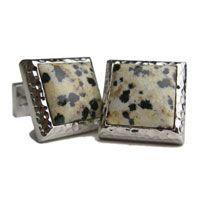 Check out the deal on Dalmatian Jasper Cufflinks at Cufflinks Depot