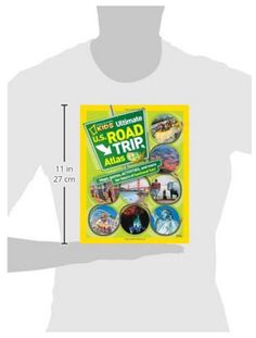 - Ages 8-12 - 75 color photos - Maps,Games, Activities and more... - Hours of backseat fun - Covers all 50 states The National Geographic Kids Ultimate U.S. Road Trip Atlas will entertain your kids th