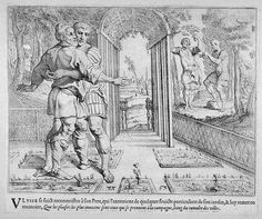Odysseus makes himself known to Laertes  17th century etching  Theodor van Thulden (1606 - 1669)  Fine Arts Museums of San Francisco Homer Odyssey, St John The Evangelist, Trojan War, Greek And Roman Mythology, Greek History, Simple Minds, Gay Art, Classic Books, Museum Of Fine Arts