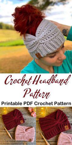 Make a cozy ear warmer- - knithat.- Make a cozy ear warmer- - knithat.- Knitting , lace processing is the single most beautiful hobbies that gir. patterns free hats women winter Make a cozy ear warmer- - knithat. Bandeau Crochet, Crochet Headband Pattern, Crochet Beanie, Knitted Hats, Crochet Headbands, Beanie Pattern, Crochet Scarves, Crochet Crafts, Easy Crochet