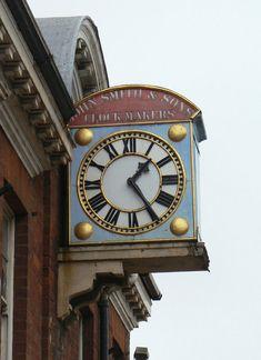 Clock at The Clockworks, near Derby, UK Big Clocks, Cool Clocks, Outdoor Clock, World Clock, Unusual Clocks, Steampunk Clock, Time Clock, Grandfather Clock, Antique Clocks