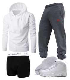 """Dominick 61"" by blvcksymba on Polyvore featuring NIKE, Calvin Klein, men's fashion and menswear"