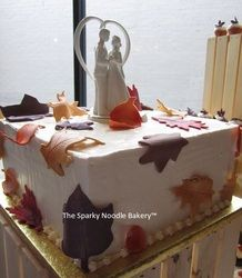 Wedding Cakes - The Sparky Noodle Bakery™ Noodles, Wedding Cakes, Bakery, Pudding, Desserts, Food, Macaroni, Wedding Gown Cakes, Tailgate Desserts