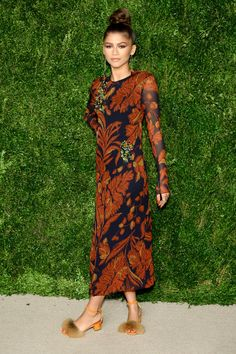 Zendaya aux CFDA/Vogue Fashion Fund Awards