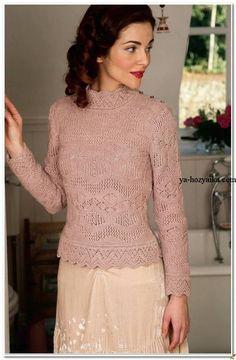 Пуловер спицами по шетландским мотивам. Шотландские мотивы вязание спицами.