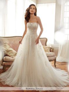 Spring 2017 Sophia Tolli Wedding Dresses - MODwedding