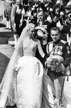 Wedding dress of Grace Kelly, Monaco, 1956