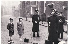 the Salvation Army on the streets of the East End