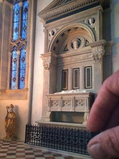 A/N Blog . This miniature Italian Gothic cathedral by Pratt alum Ryan McAmis gets every teeny tiny detail right