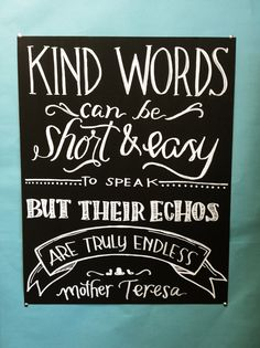 classroom quotes chalkboard art - Google Search