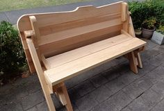 bench seat with clip-on top piece for extra comfort