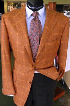 Sport Coat by Kiton(48L)  Shirt by Sid Mashburn(L)  Slacks by Zegna(40)  Tie by Paul Stuart