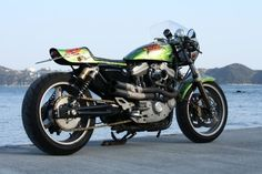 Harley Davidson XL1200S Cafe Racer by Good Speed #motorcycles #caferacer #motos | caferacerpasion.com
