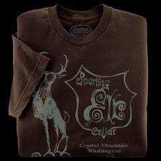 Snorting Elk Cellar T-Shirt