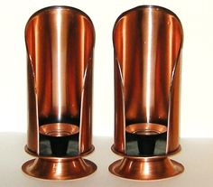 Solid Copper USA Candle Sconces Holders #newriverone