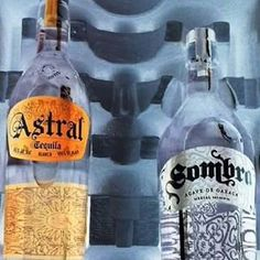 #astraltequila and #sombramezcal ... higher proof in the package.