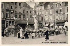 markt met mooswief 1956