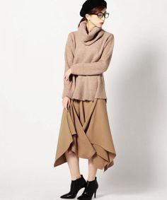 エラスティックウエストスクエアスカート|ROSE BUD|ファッション通販|ROSE BUD(ローズバッド)公式サイト