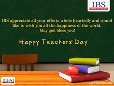 """IBS Wishes You All """"Happy Teachers' Day""""  #IBSAT2016"""