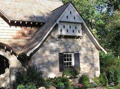 birdhouse built into eaves - Google Search