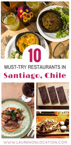 10 Must Try Restaurants in Santiago Chile. Where to eat if you want to get a taste of local Chilean flavors. babies flight hotel restaurant destinations ideas tips South America Destinations, South America Travel, Travel Destinations, Travel Tips, Travel Goals, Travel Hacks, Travel Packing, Solo Travel, Budget Travel