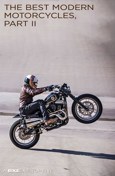 The @Harley-Davidson Sportster 48 makes it onto our list of the best modern motorcycles to customize. (Here's Roland Sands showing why.) Click through to see the other bikes that made the list.