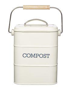 Ceramic Countertop Compost Container   Pinterest   Compost Container,  Composting And Countertop