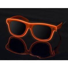 ON SALE $9.99 Orange on Orange - LightUp™ Sunglasses. #promovizion #lightupsunglasses #sunglasses #streetvibe #coolshades #party #nightclubs