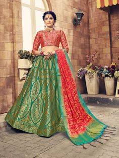 Kids Lehenga, Red Saree, Manish Malhotra, Sabyasachi, Sonam Kapoor, Indian Outfits, Blouse Designs, Off The Shoulder, Pastel Pattern