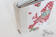 Yka handmade: Travel album Travel Album, Diaries, Albums, Notes, Handmade, Report Cards, Hand Made, Journals, Notebook