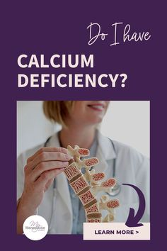 """Do I Have Calcium Deficiency? 