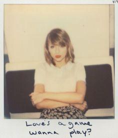Taylor Swift fotos polaroide do álbum 1988