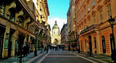 Basilica area #basilica #budapest #tourist #nice #bar #nightlife