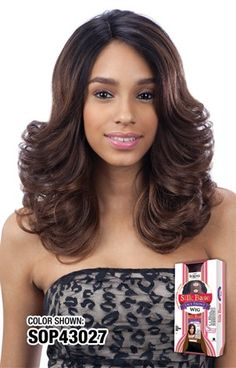 Equal Silk Base Texana Wig www.hairdelicious.co.za Lace Front Wigs, Color Show, Equality, Strapless Dress, Long Hair Styles, Silk, Base, Beauty, Collection