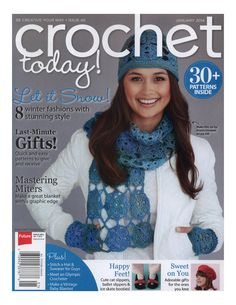 Crochet today january 2014